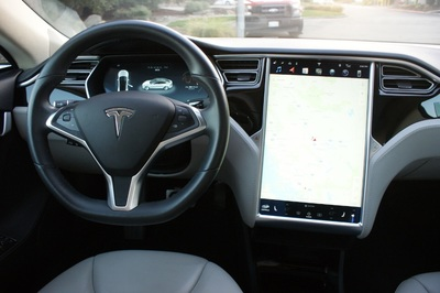 Used 2015 Tesla Model S 85 kWh Battery at Luxury Motors-Bay Area