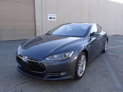 Used 2013 Tesla Model S Cls 550 At Luxury Motors Bay Area