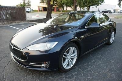 Used 2015 Tesla Model S 60 kWh Battery at Luxury Motors-Bay Area