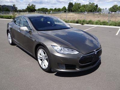 Used 2015 Tesla Model S 85d At Luxury Motors Bay Area