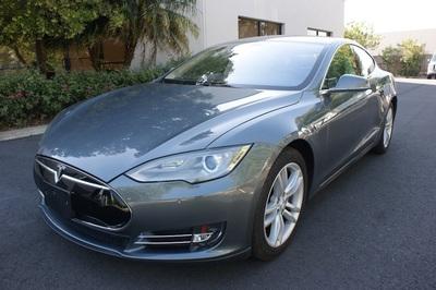 2013 Tesla Model S At Luxury Motors Bay Area