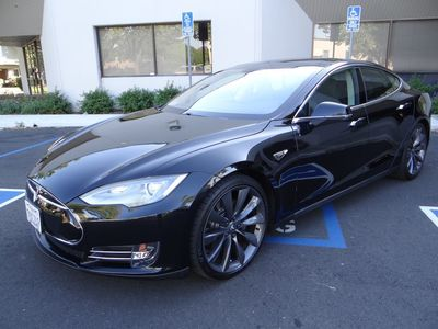 2013 Tesla Model S Performance At Luxury Motors Bay Area